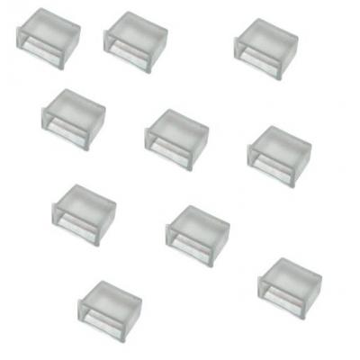 Set 10 Capace tip Dop Pentru Furtun Luminos cu Banda Led