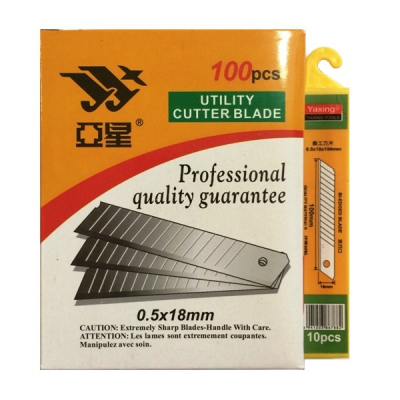 Set 100 Rezerve Lame de Cutter 0.5x18mm