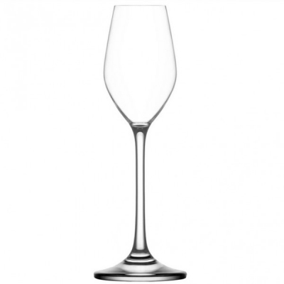 Set 24 Pahare Sticla Cristalina cu picior 60ml Gusto LAV 111