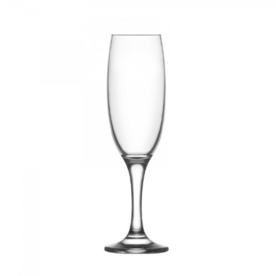 Set 24 Pahare Sticla cu picior 220ml Sampanie Empire EMP541 DDC