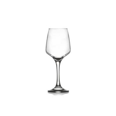Set 24 Pahare Sticla cu picior 330ml  Vin alb LAL 569