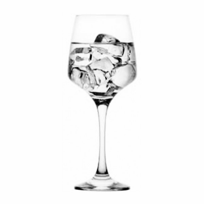 Set 24 Pahare Sticla cu picior 400ml  Vin LAL 592