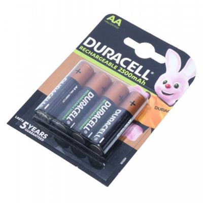 Set 4 Acumulatori Duracell 1.2V R6 AA NI-MH 2400mAH