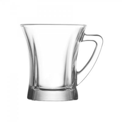 Set 48 Cani Sticla Ceai Cafea 220ml Truva TPL435