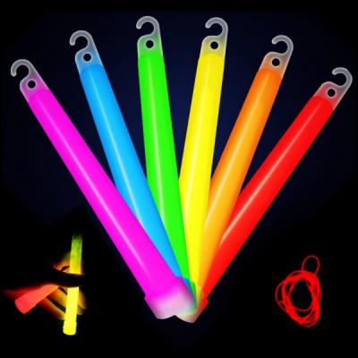 Set 6 Tuburi Fosforescente pentru Petreceri 130x14mm Diverse Culori