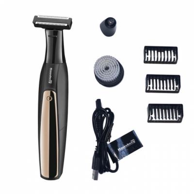 Set Barbierit Lavabil 3in1 Aparat Ras Trimmer la USB Hausberg HB75