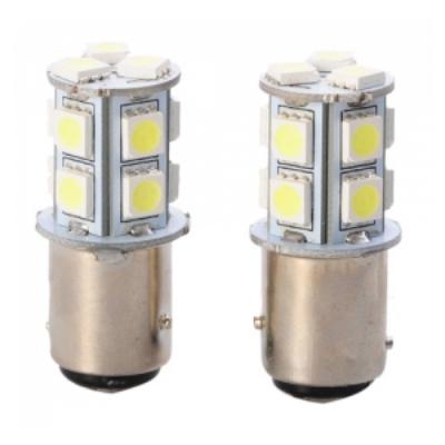 Set Becuri Auto 13 LED SMD Filament Dublu Stopuri si Frana