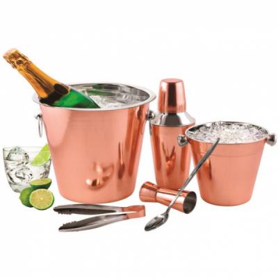 Set Cocktail Shaker Frapiere Cleste Pahar INOX Cupru Grunberg GR2433