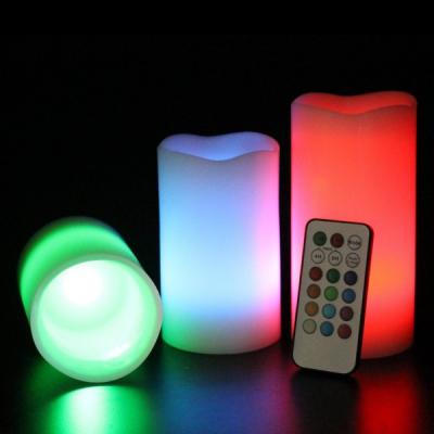 Set Lumanari Iluminate, cu Telecomanda