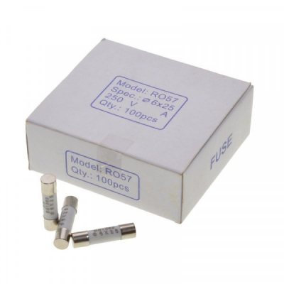 Siguranta Rapida 6x25mm de Ceramica 3A Set 100buc SIGCER62503