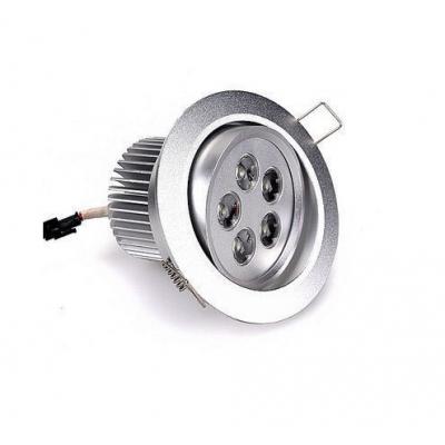Spot Incastrabil cu 5 LED de 1W Lumina Alba 220V