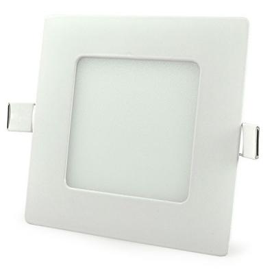 Spot Incastrabil Patrat LED 6W Alb Rece