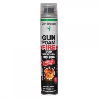 Spuma Poliuretanica cu Protectie la Foc Den Braven DBS9802 700ml