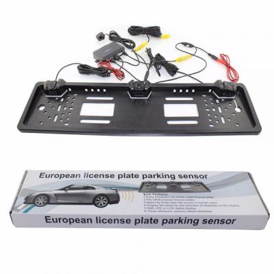 Suport Numar Auto 2 Senzori Parcare si Camera Video Marsarier PZ600L