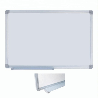 Tabla Magnetica Alba cu Rama Metal si Suport Markere 90x120cm
