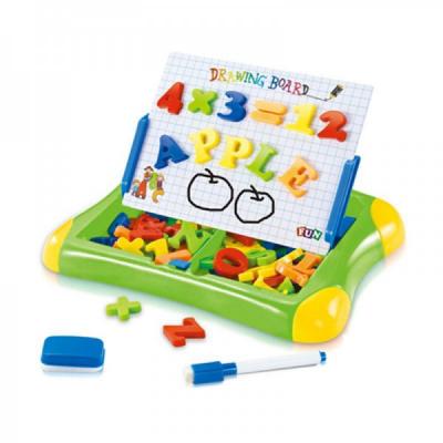 Tabla Magnetica Educativa Copii 3in1 cu Cifre si Alfabet QJ5581