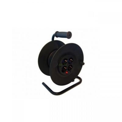Tambur Rola Pentru Rulat Cablu de Alimentare 25m, Fara Cablu