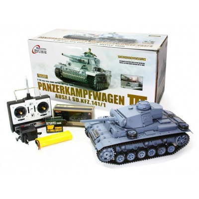 Jucarie Tanc Radiocomandat PanzerKampfWagen III 3848