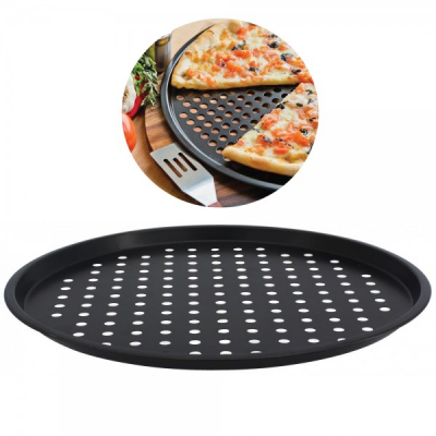 Tava Rotunda Forma de Copt Pizza 33cm Sapir SP1223P