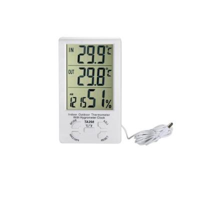 Termometru Higrometru Interior Exterior -Termohigrometru TA298