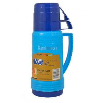 Termos din Plastic cu Capac tip Cana 1L AD6516 JU