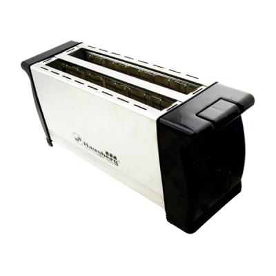 Toaster Prajitor 4 Felii Paine Hausberg HB180 1200W Inox