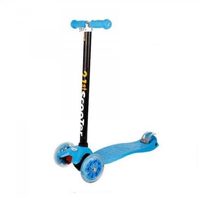 Trotineta Copii cu Roti din Silicon 201314 21ST Scooter Blue