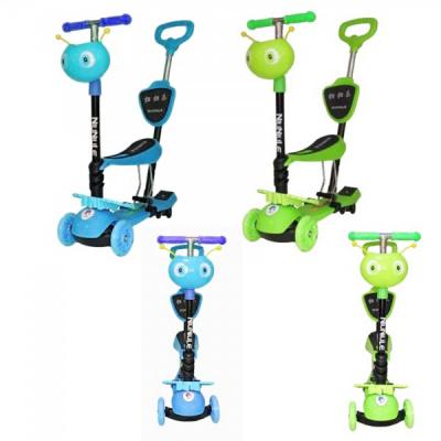 Trotineta Copii Micro Scooter 5in1 1-8 Ani Baieti 40Kg cu Manere O si T