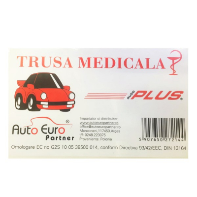 Trusa Medicala Auto Omologata