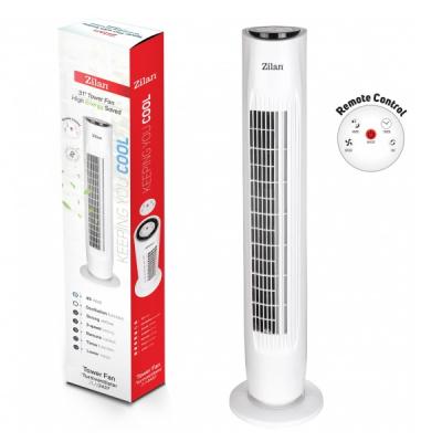 Ventilator Turn 45W 31Inch Timer Telecomanda 3 Trepte Zilan Floria 3437