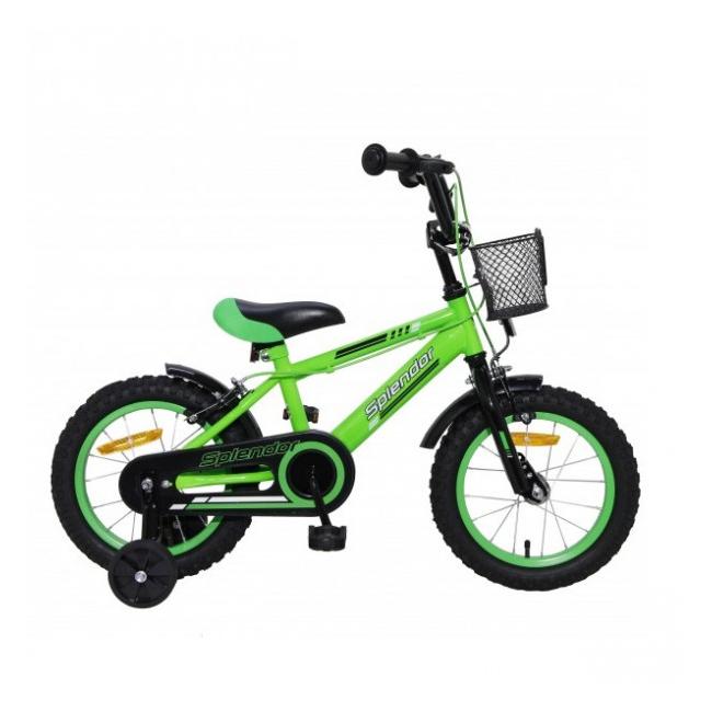 Bicicleta pentru Copii 16 Inch Splendor Verde SPL16V