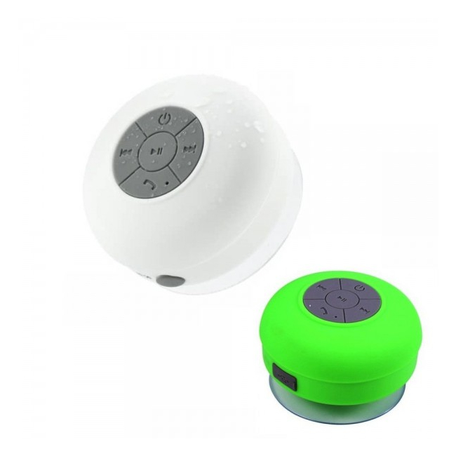 Boxa 3W Rezistenta la Apa cu Bluetooth 3.0, Microfon si Ventuza