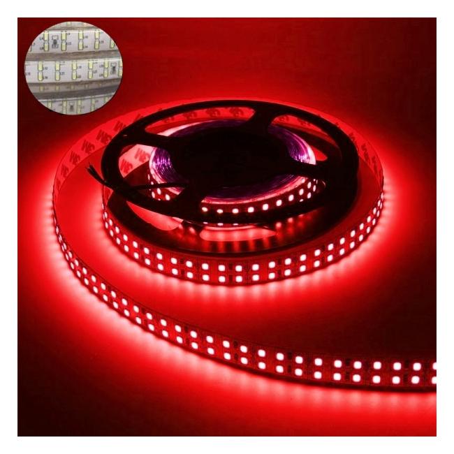 Furtun Luminos cu Banda 1200 LEDuri SMD3014 Rosii Rola 5m TKO
