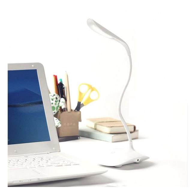 Lampa de Birou Flexibila LED, Incarcare USB, Comutator Tactil LSSF
