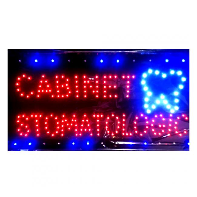 Reclama Luminoasa LED 55x33cm Cabinet Stomatologic