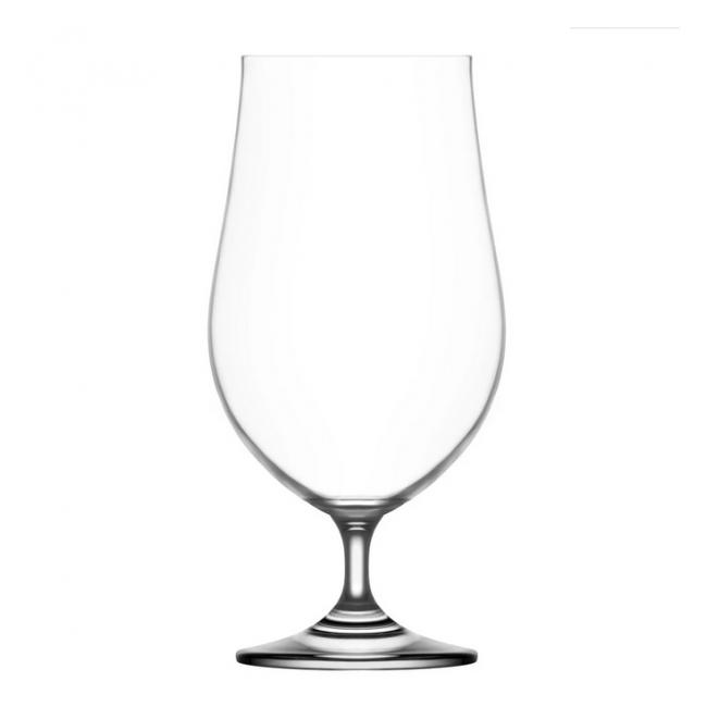 Set 24 Pahare Sticla Cristalina cu Picior Cocktail 550ml Gusto LAV 175