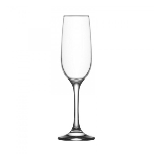 Set 24 Pahare Sticla cu picior 215ml Sampanie Fame FAM539