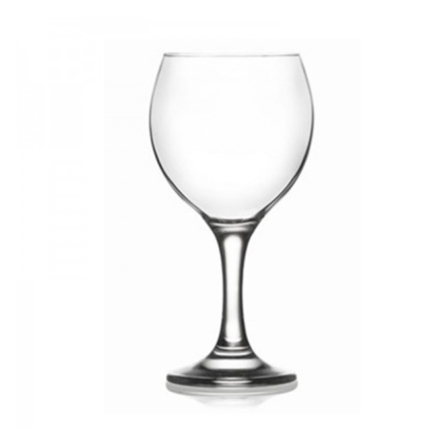 Set 24 Pahare Sticla cu picior apa MISKET 552 260ml