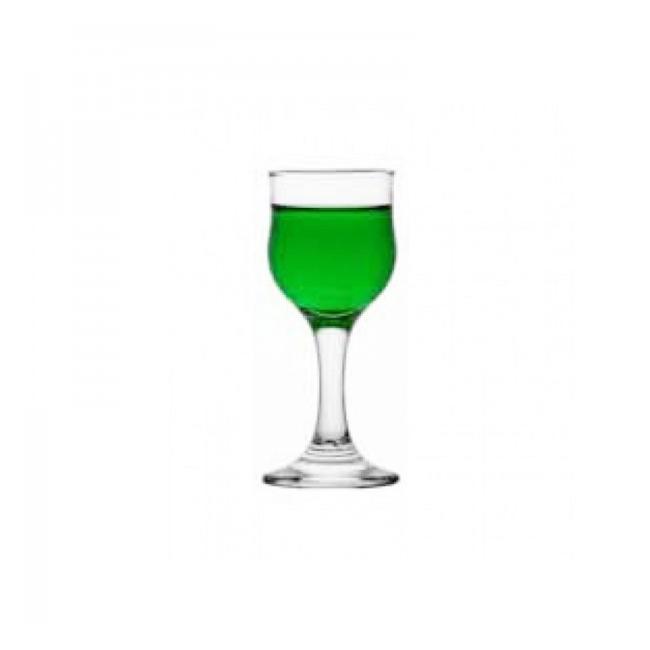 Set 24 Pahare Sticla cu picior Lichior 55ml Liqueur Nevakar 512