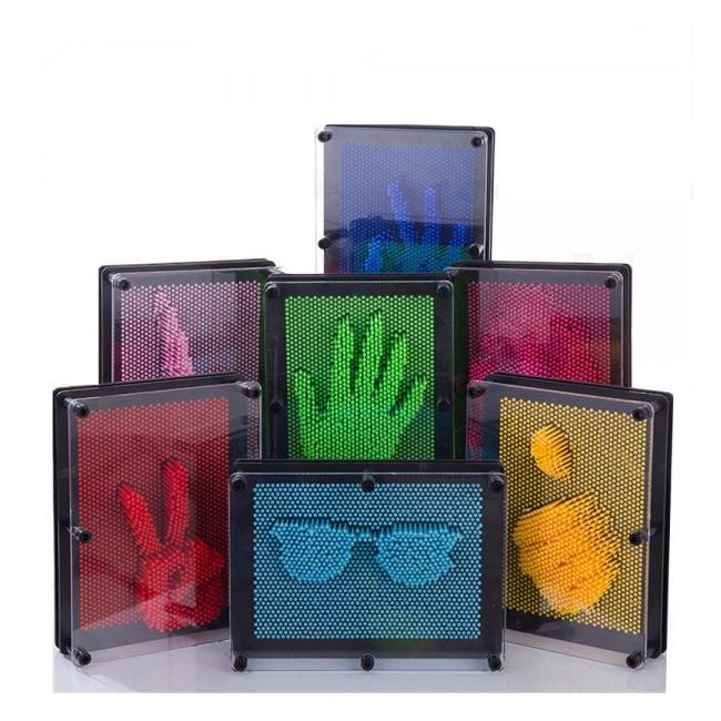 Tablou 3D Pin Art Jucarie Copii 17.5x12.5x5.5cm 008