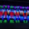 Instalatii Luminoase Craciun 8 Turturi Digitali 50cm LED Multicolor 7003
