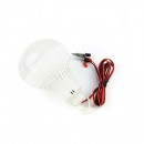 Bec LED 7W 12V cu Cablu si Clesti Baterie Auto Glob Mat Plastic ONIC