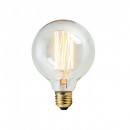 Bec LED Filament 8W Decorativ Edison Vintage Alb Cald E27 G95
