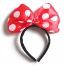 Bentita Minnie Mouse Rosie cu Jocuri de Lumini