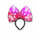 Bentita Minnie Mouse Roz cu Jocuri de Lumini