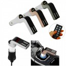 Bluetooth Car Kit Modulator FM, MP3 Player, Sloturi USB, 590