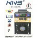Boxa Portabila Bluetooth Radio USB TF AUX MIC Telecomanda NS8006UTT