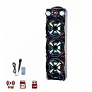 Boxa Portabila BT, FM, USB, SD, MIC si Telecomanda Ailiang USBFM3152DT