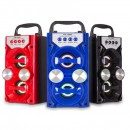 Boxa Portabila cu Bluetooth, Radio FM, AUX, Slot USB si SD MS209BT