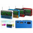 Boxa Portabila cu Ceas, Alarma, Radio, USB Mp3 WS1513